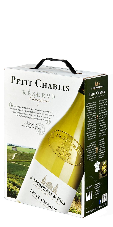 J. Moreau & Fils Petit Chablis bib, foto bib