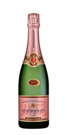 Louis Bouillot Crémant de Bourgogne Rosé Perle d'Aurore, foto flaske