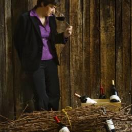 Foto av Marques de Murrieta's winemaker Mrs. Maria Vargas Montoya